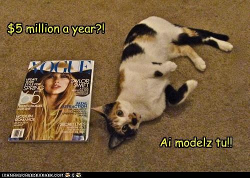 do want magazine model modeling money paycheck posing vogue - 5861145856