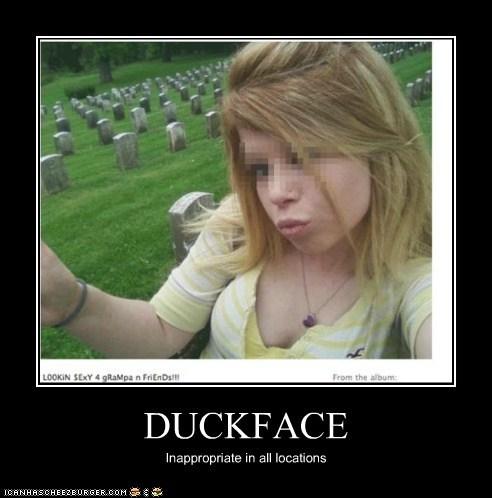 cemetery,duckface,grampa,tasteless,weird kid