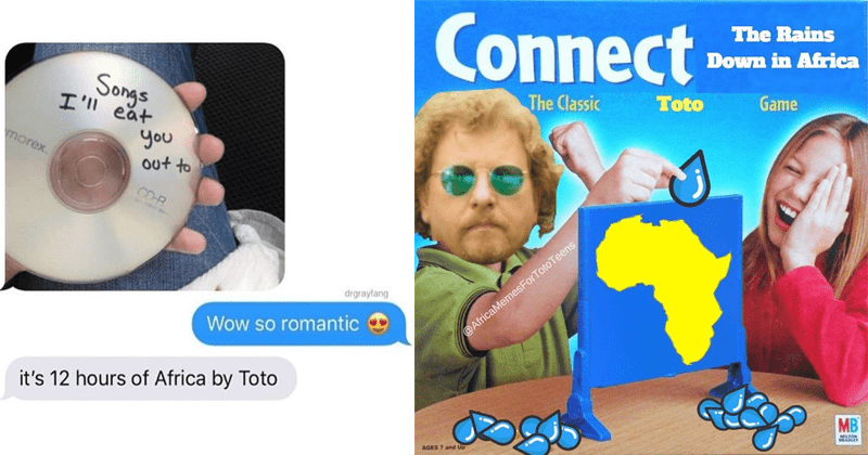 africa by toto, memes, meme