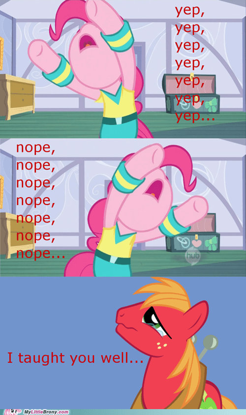 big mac comics eeyup influence nope pinkie pie - 5862994432