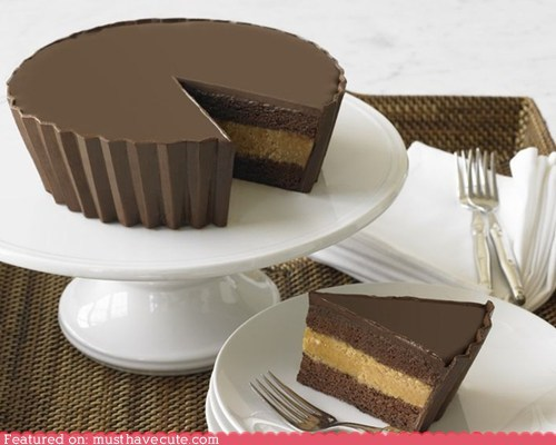 cake chocolate epicute giant peanut butter peanut butter cup - 5864070144