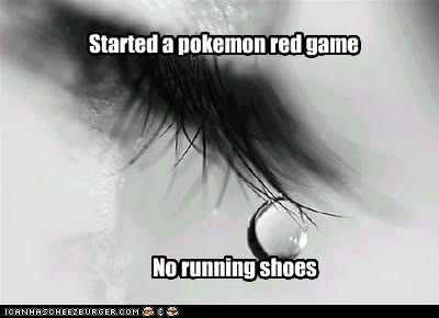 emolulz First World Problems Pokémon running shoes video games - 5865251584
