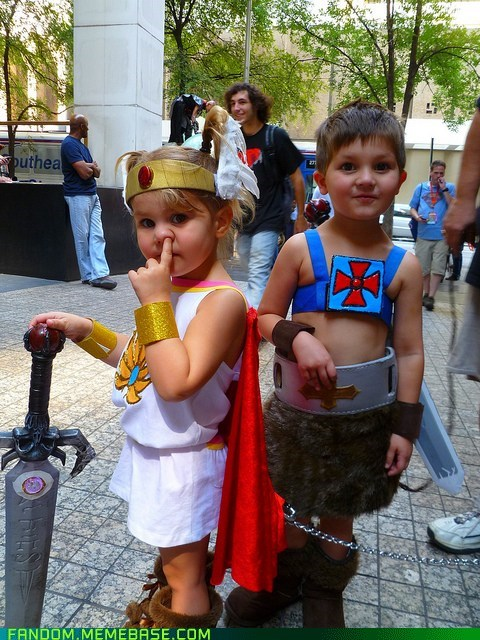 cosplay cute he man kids she-ra - 5865921024