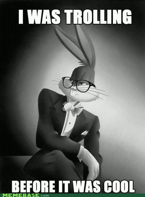 bugs bunny original troll face - 5866360832