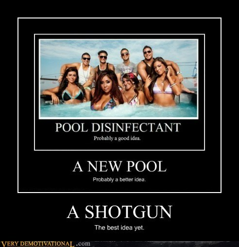 hilarious,hot tub,jersey shore,shotgun