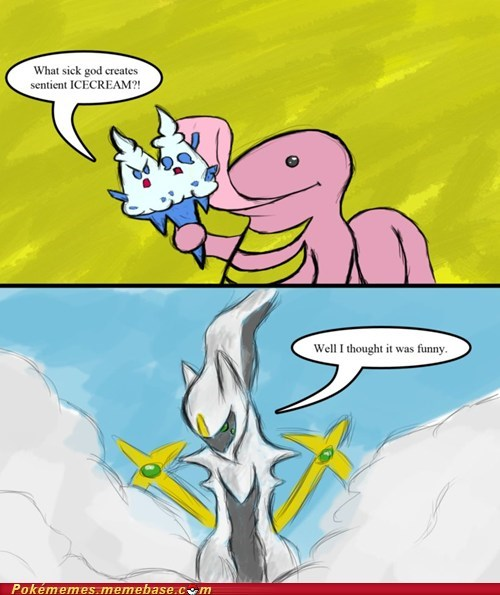 arceus,best of week,comic,funny,ice cream,lol,troll,vanilluxe