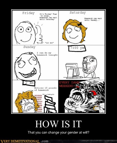 change gender hilarious rage comic wtf - 5866987264