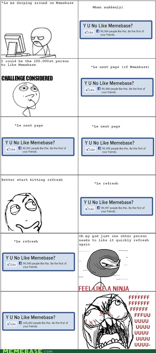 cheezburger facebook fan memebase Rage Comics - 5867255552