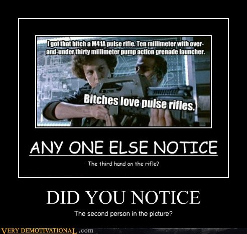 Aliens hilarious notice second person - 5867735040