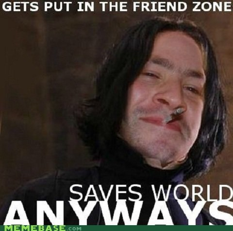 friend zone Good Guy Greg Harry Potter snape - 5868061184