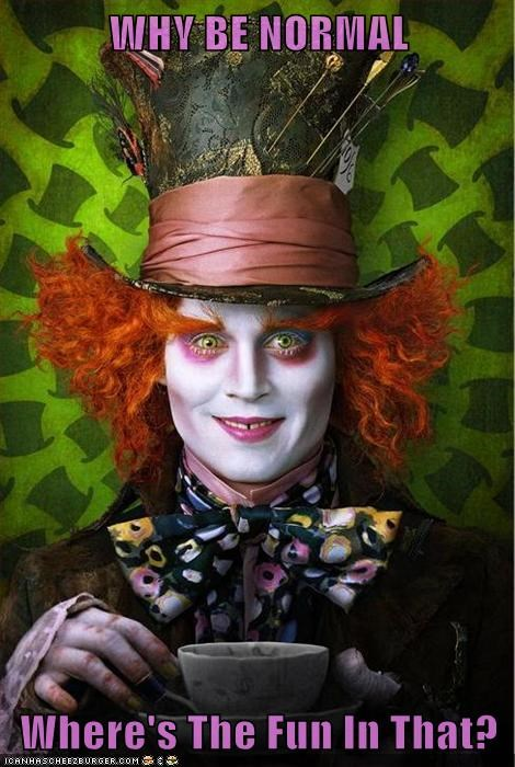 actor alice in wonderland celeb funny Hall of Fame Johnny Depp Movie - 5868066560