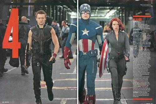 Black Widow,captain america,empire magazine,hawkeye,movies,superheroes,The Avengers