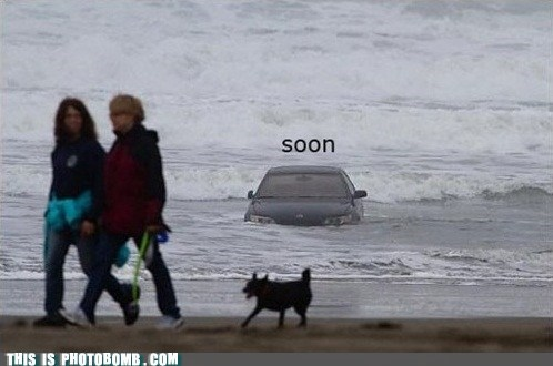 beach,beached,best of week,car,Impending Doom,life jacket,SOON