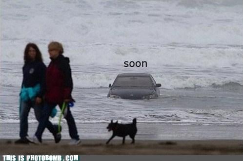 beach beached best of week car Impending Doom life jacket SOON - 5868744960