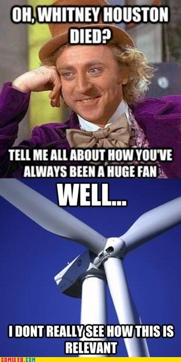 celeb fan meme the internets whitney houston Willy Wonka - 5868787968