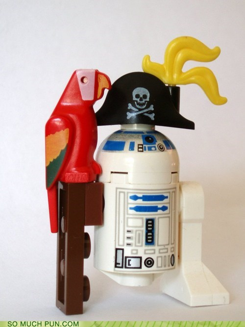 double meaning Hall of Fame lego literalism Pirate r2d2 sound star wars - 5868893440