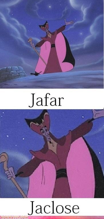 aladdin animation disney funny Hall of Fame jafar pun - 5868900608