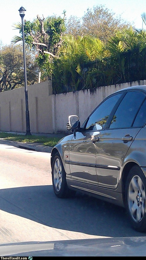 car fail,mirror