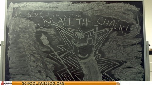 all the things chalkboard classroom outdated - 5868931072