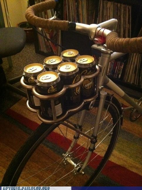 bike delivery fixie hipsters modification six pack - 5868973824