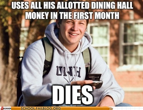 dies,life 101,personal finances,starving,uses all money