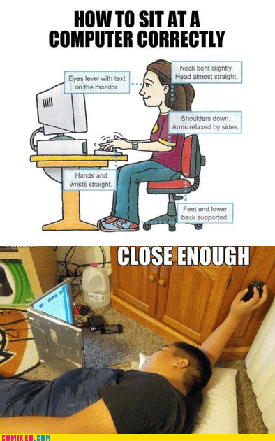 Close Enough computer laptop the internets - 5869065984