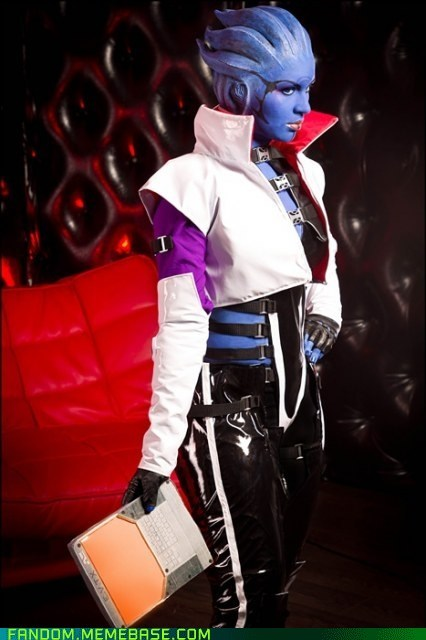 aria cosplay mass effect video games - 5869092352