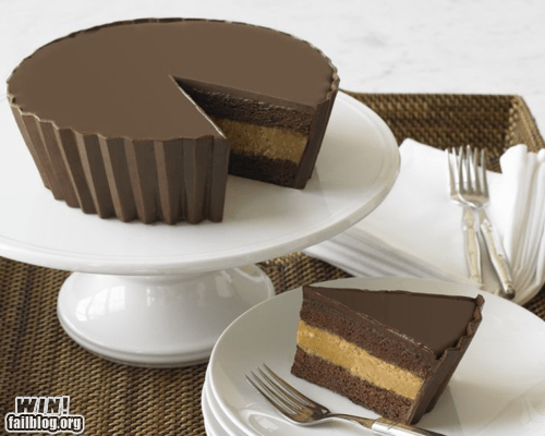 cake dessert food g rated Hall of Fame peanut butter reeses-peanut-butter-cup win - 5869133824
