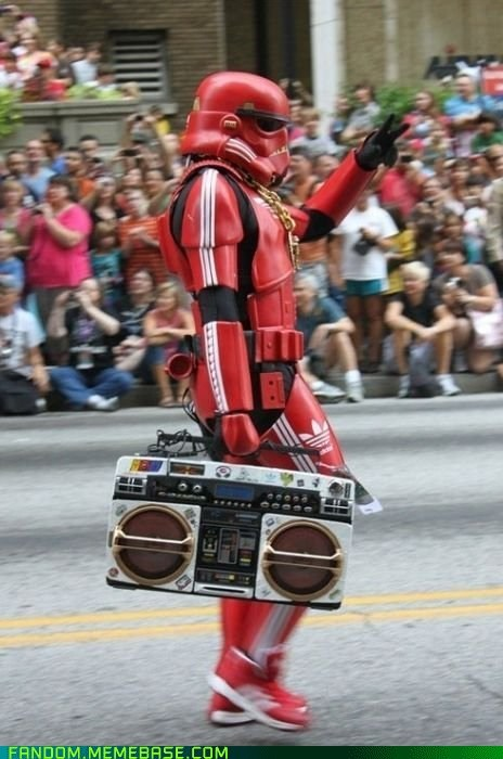 boombox cosplay star wars stormtrooper - 5869249792