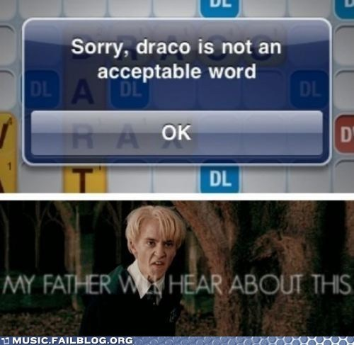 draco,draco malfoy,Harry Potter,Words With Friends