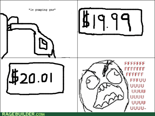 fu guy gas price Rage Comics - 5869320960