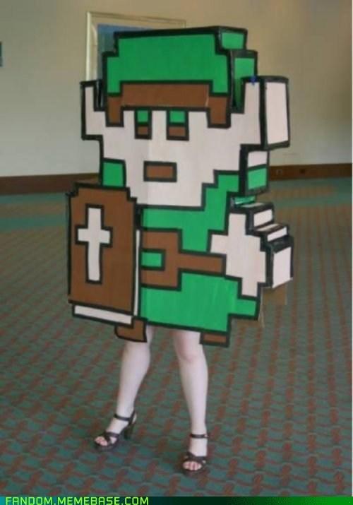 cosplay legend of zelda link video games