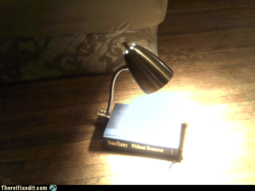 book lamp,neat,not a kludge