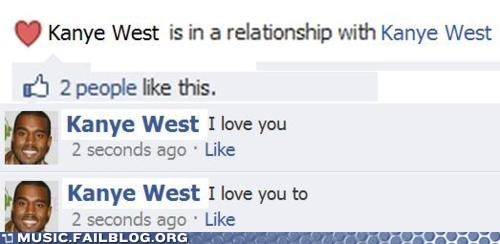 facebook,kanye west,relationship,relationship status