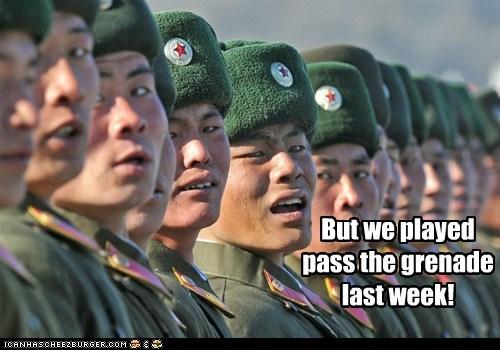 grenades,North Korea,political pictures