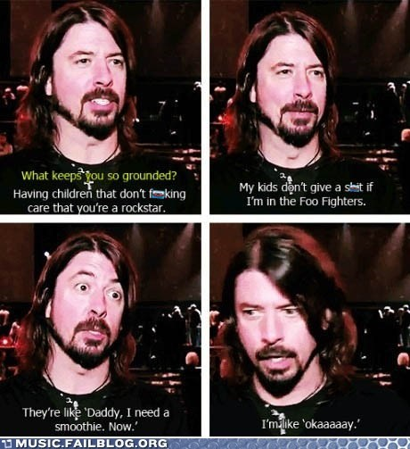 dad,Dave Grohl,Father,foo fighters,Hall of Fame,parenting