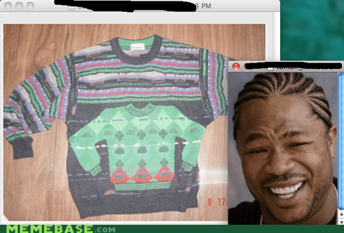 clothes sweaters yo dawg - 5870423296