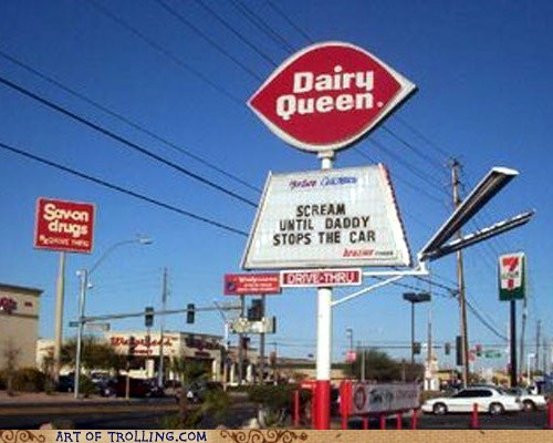 best of week,dairy queen,ice cream,IRL,scream,sign