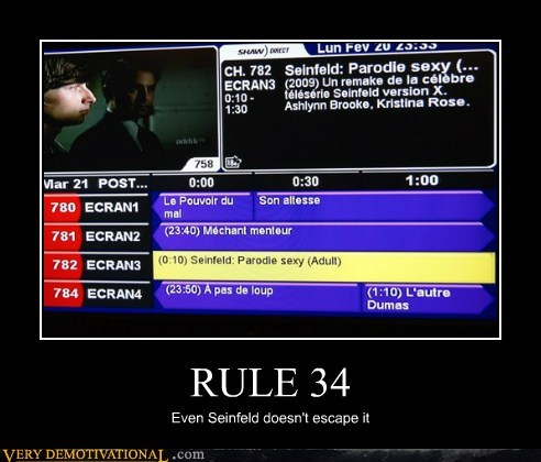 hilarious,Rule 34,seinfeld,wtf