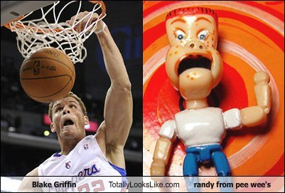 blake griffin,funny,Hall of Fame,nba,pee-wees-playhouse,randy,TLL