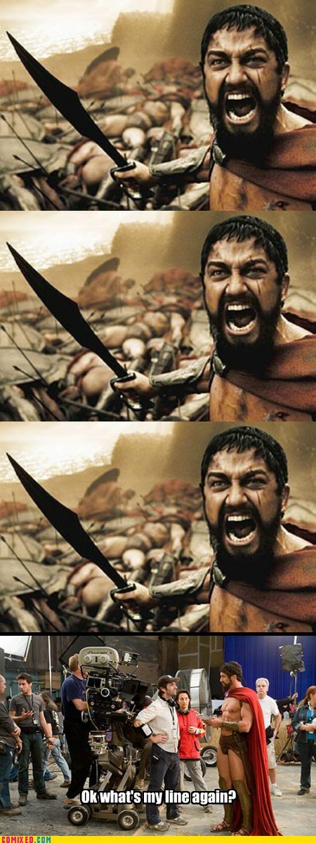 300 actor From the Movies meme Movie this is sparta - 5871701248