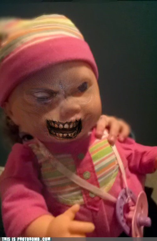 creepy doll when you see it zombie - 5872112896
