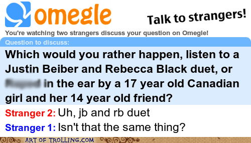 bad touches duet justin bieber Omegle Rebecca Black spymode - 5872695808