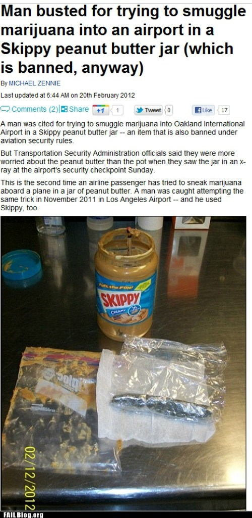 airport drugs Probably bad News stupid criminals