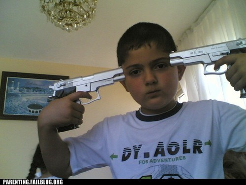 gangster gun safety guns posing - 5873071616