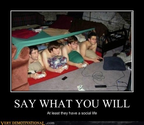 hilarious shirtless social life video games wtf