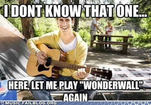 guitar guitar player oasis wonderwall - 5873187840