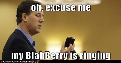 blackberry,political pictures,Rick Santorum