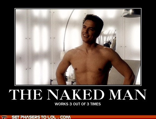 Captain Jack Harkness doctor who john barrowman shirtless - 5873193216