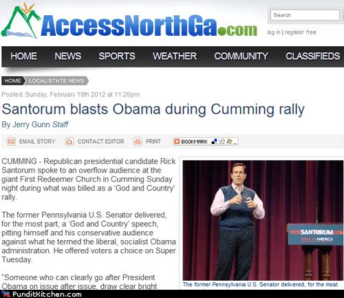 barack obama election 2012 political pictures Rick Santorum - 5873261824